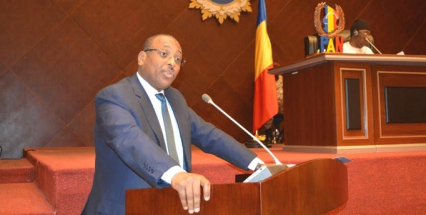 Le ministre tchadien des finances et du budget.