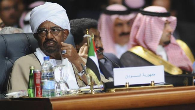 Le Président soudanais Omar El-Béchir, lors d'une conférence en Arabie Saoudite. Crédits : Sources