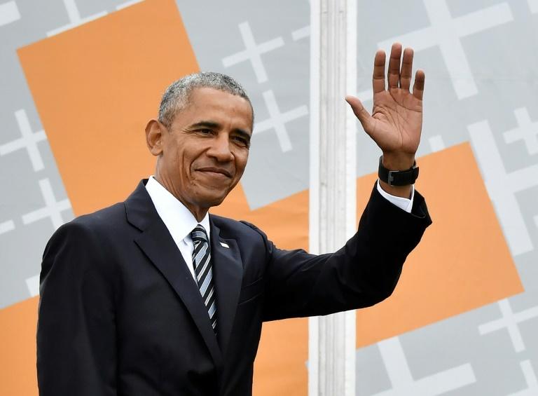 L'ex-président américain Barack Obama à Berlin le 25 mai 2017 / © AFP/Archives / John MACDOUGALL