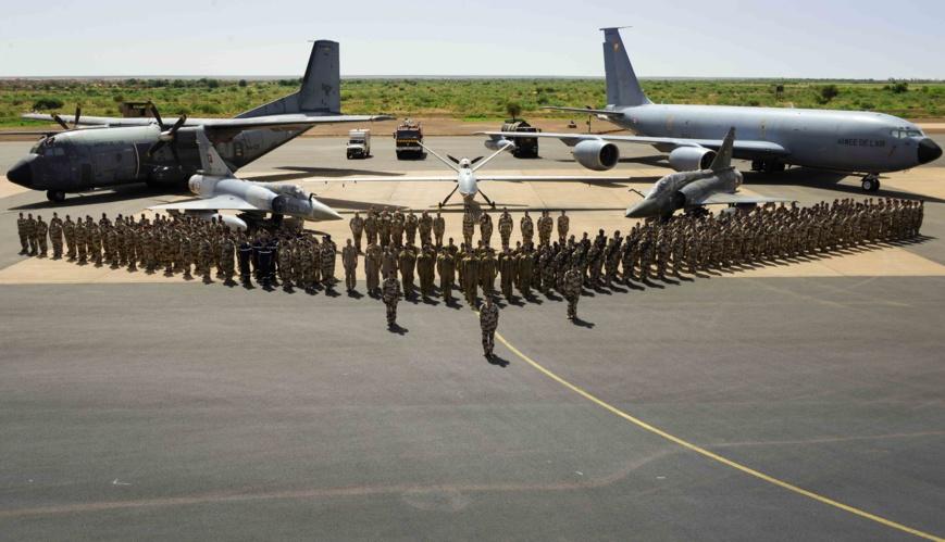 L'opération Barkhane célèbre la fête du 14 juillet avec la force conjointe africaine