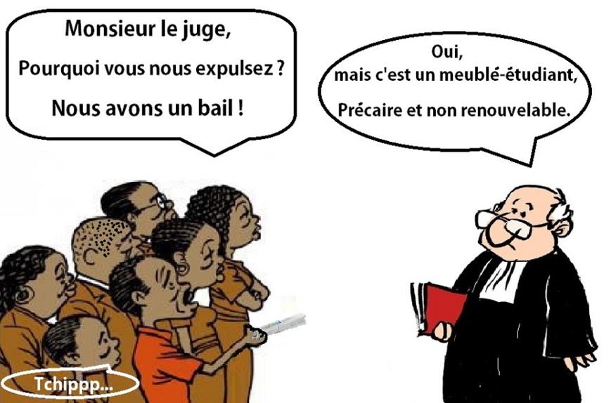 Des étudiants africains deviennent SDF en France : La responsabilité du bail précaire