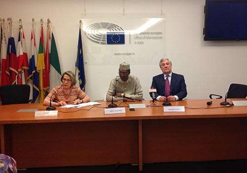 Le Président tchadien et le président du parlement européen ont abordé plusieurs sujets d'intérêts communs.