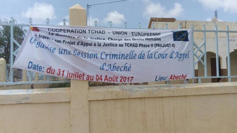 Session criminelle de la cour d'appel d'Abéché. Alwihda Info/D.H.