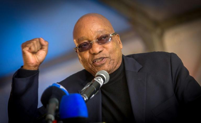 Le président sud africain Jacob Zuma lors d'un discours à Durban, le 14 mai 2017 / © AFP/Archives / RAJESH JANTILAL
