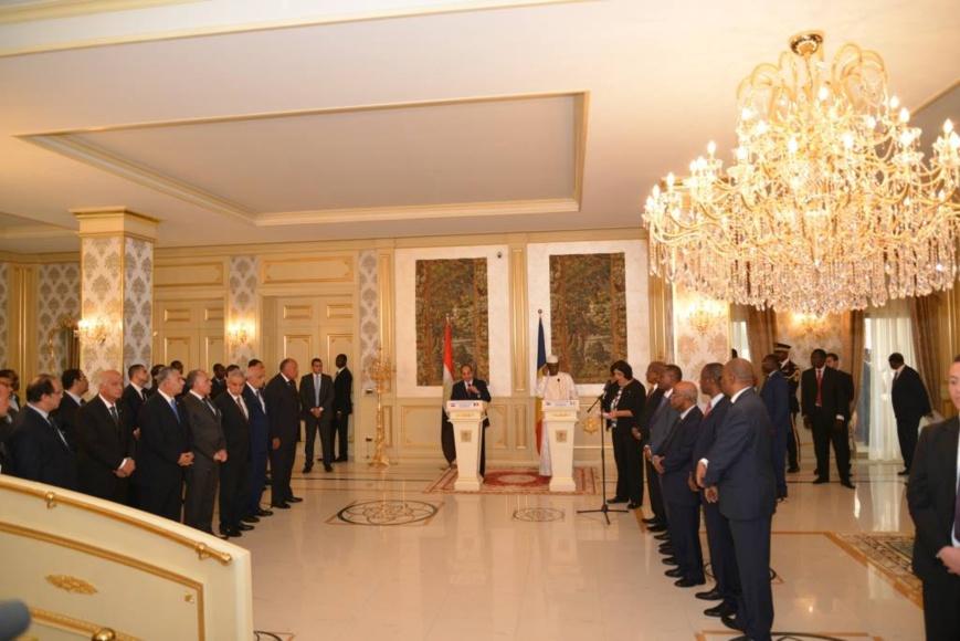 """Le Tchad et l'Egypte vont réactiver la """"commission mixte de coopération""""."""