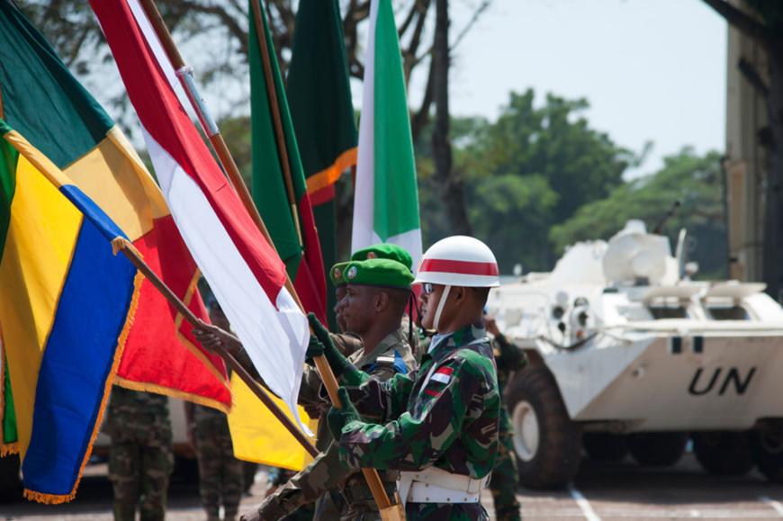 """RCA: Les calomnies contre les soldats de la paix visent à """"décrédibiliser la mission"""""""