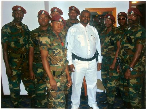 CENTRAFRIQUE : Le Général MISKINE aurait foulé le sol centrafricain