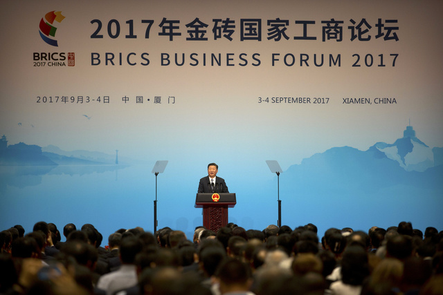 """Working Together to Usher in the Second """"Golden Decade"""" of  BRICS Cooperation: Xi"""