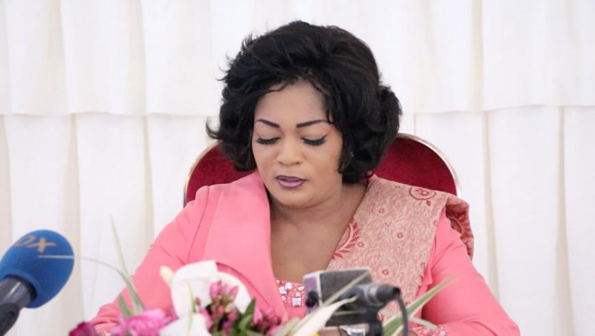 Bertille Nefer Ingani, ministre congolaise de la promotion de la femme