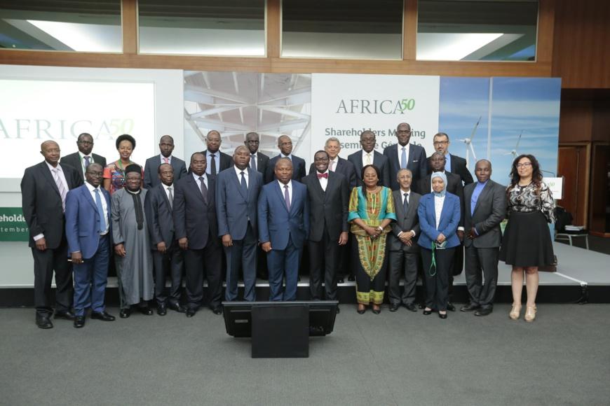 Guinée et RD Congo désormais parties prenantes du fonds Africa 50