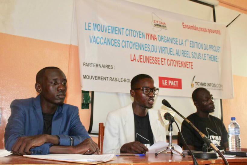 Tchad : Le Mouvement Iyina forme les jeunes aux valeurs de la citoyenneté et de la démocratie