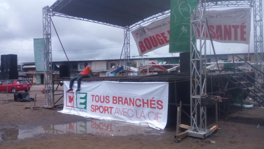 Côte d'Ivoire : La compagnie d'électricité soucieuse de la santé de ses clients par le sport