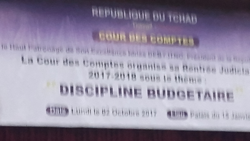 Tchad: La cour des comptes organise sa rentrée judiciaire
