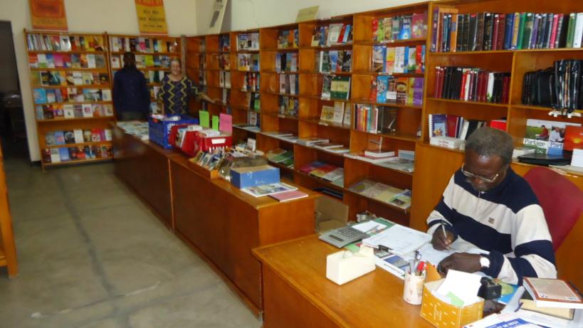 Tchad. Librairie CLE. Crédits photo : sources