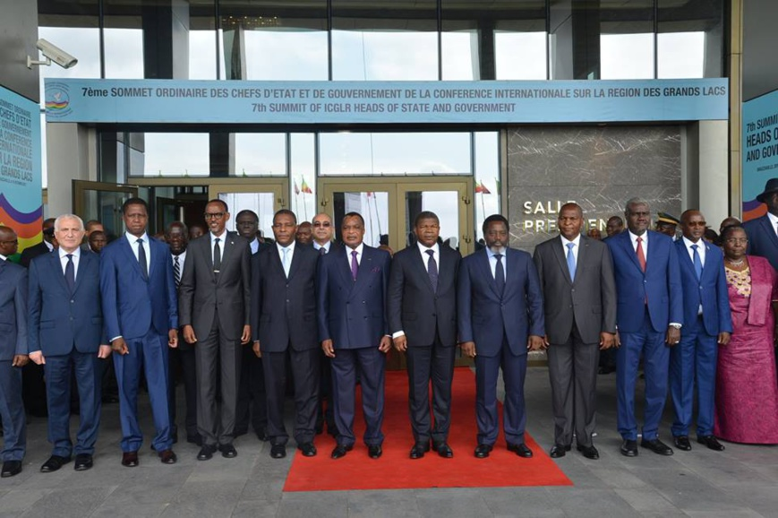 Présidence de la CIRGL : Denis Sassou N'Guesso déterminé à accélerer le règlement des conflits.