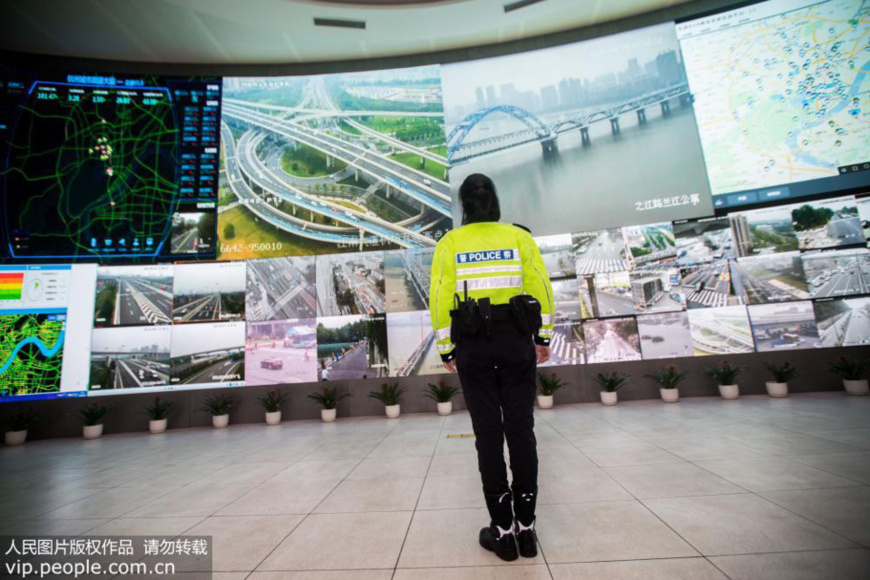 Hangzhou growing 'smarter' thanks to AI technology