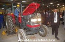 Le tracteur deux fois moins cher au Tchad