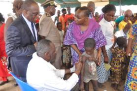 Prévention contre la Polio en Côte d'Ivoire : Plus de 8 millions d'enfants de 0 à 5 ans à vacciner