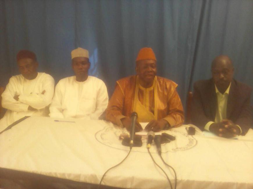 La coordination de la majorité présidentielle a tenue une conférence de presse ce vendre 27 octobre 2017 à la maison des médias.