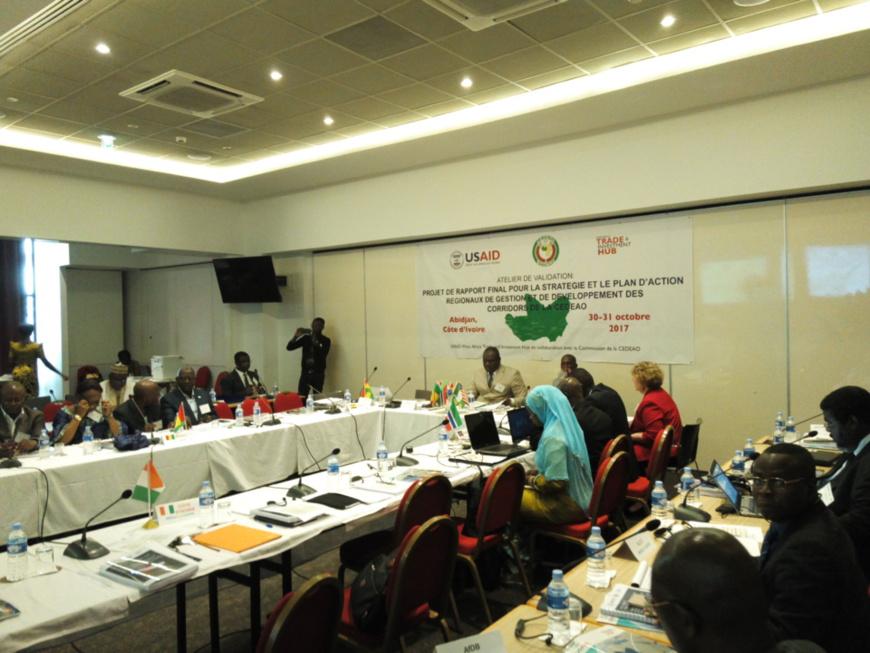 Gestion et développement des corridors Cedeao : Le rapport final de l'étude validé à Abidjan