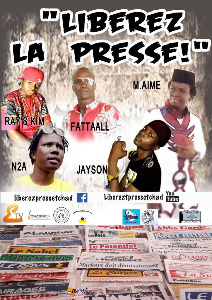Tchad : des artistes dénoncent des pressions contre les journalistes