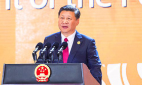 Xi renews 'open economy' pledge