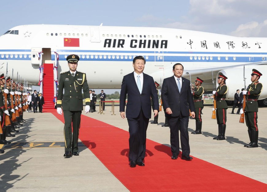Xi Jinping's visit symbolizes profound China-Laos friendship