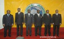 6 (six) présidents au sommet de la Cemac.
