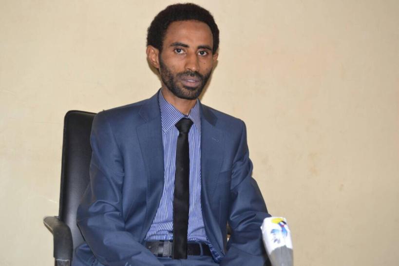 Le président de la Coalition des Associations de la Société Civile pour l'Action Citoyenne (CASAC), MAHAMOUD ALI SEID. Alwihda Info