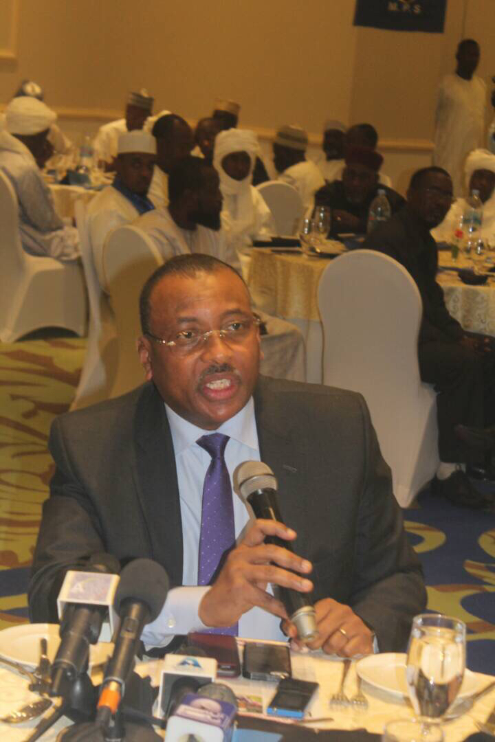 L'ex-ministre des Finances et du Budget, Christian George Diguimbaye. Alwihda Info