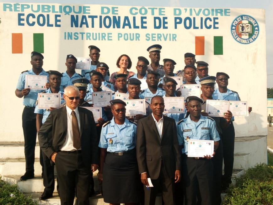 Côte d'Ivoire : 20 agents de police et de gendarmerie formés en dactyloscopie