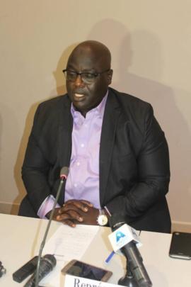 Le directeur général des droits de l'homme et de la législation, Abdelnasser Ngarboa. Alwihda Info