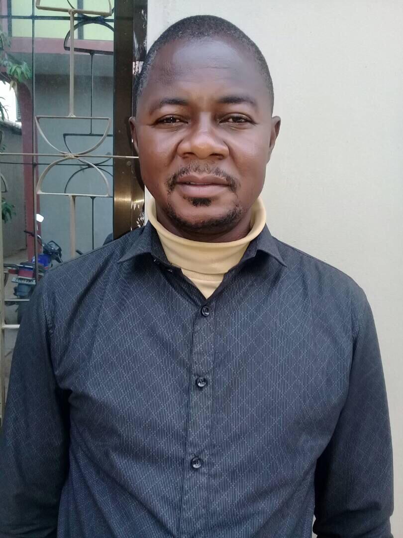 Le secrétaire général du Patronat de la Presse Tchadienne, Éric Kokinague. Alwihda Info