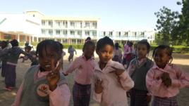 Des élèves du Complexe Scolaire Internationale Bahr (CSIB) à N'Djamena. Alwihda Info