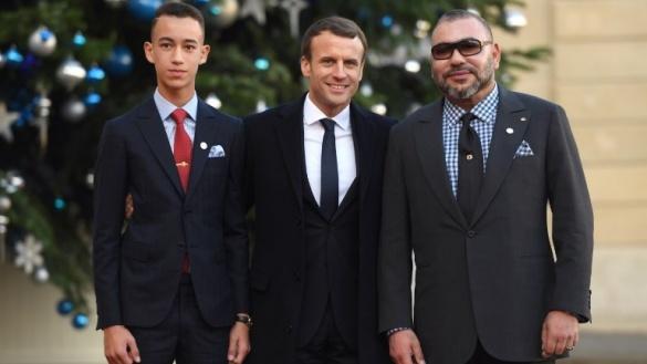 """Grand défenseur de l'environnement : Le Roi Mohammed VI, accompagné du Prince Héritier Moulay Al Hassan, participe au """"One Planet Summit"""" de Paris"""