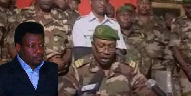 Les militaires ont investi le palais presidentiel et s'expriment à la télévision nationale.