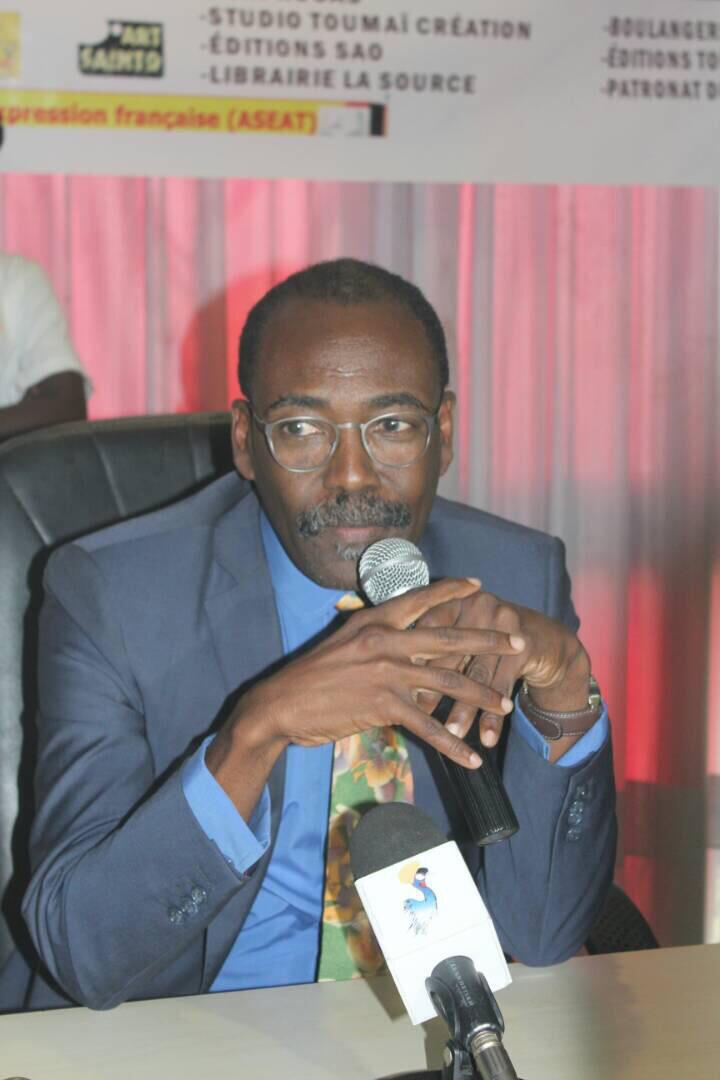Le Ministre du Développement Touristique, de la Culture et de l'Artisanat, Mahamat-Saleh Haroun. Alwihda Info