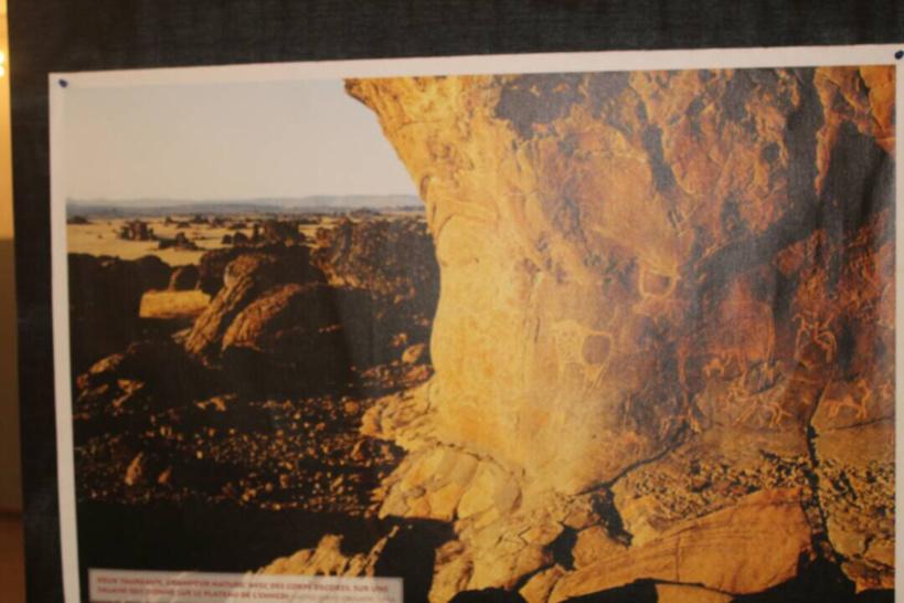 Tchad : sensibilisation sur la préservation de l'art rupestre du grand BET en vernissage