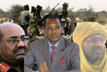 Omar El Béchir (President soudanais), Idriss Déby (President tchadien), Dr Khalil Ibrahim (Leader rébellion MJE) / Alwihda.