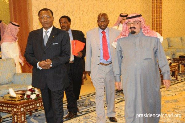 Le roi Abdullah d'Arabie Saoudite.