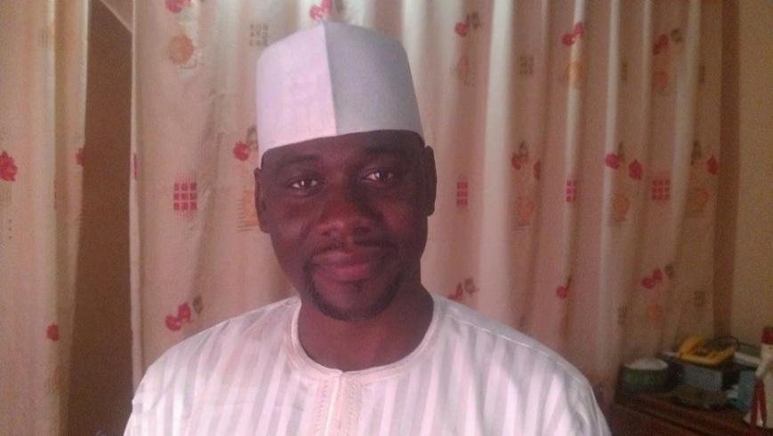 Ahmed Abba, le correspondant de RFI au Cameroun. © facebook
