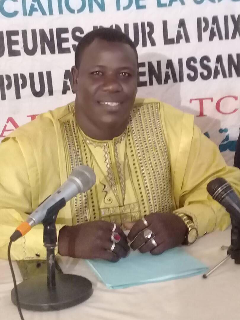 Le président de l'Alliance des Jeunes pour la Paix, le Développement et l'Appui à la Renaissance du Tchad (AJPDAR-Tchad), Mahamat El-Mahadi Ali. Alwihda Info