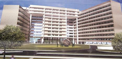 Le futur ministère des finances à N'Djamena.