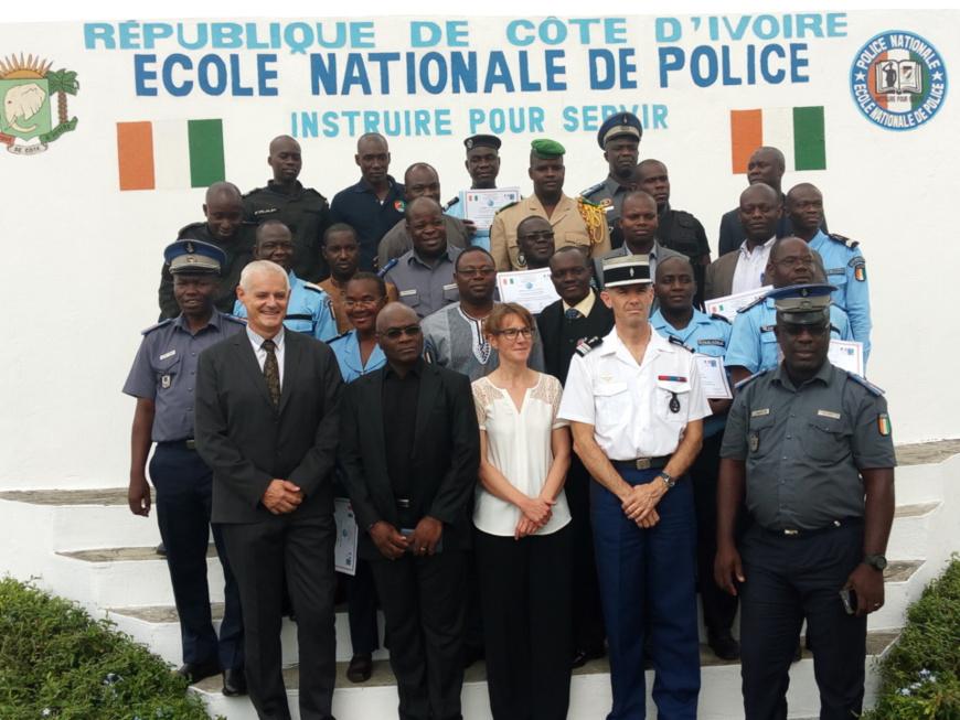 Côte d'Ivoire: Des policiers et gendarmes formés sur les incendies et explosions