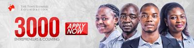 La Fondation Tony Elumelu accepte les candidatures pour le 4e cycle du programme de développement de l'entrepreneuriat
