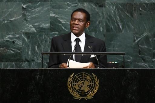 Le président equato-guinéen. Crédits : sources