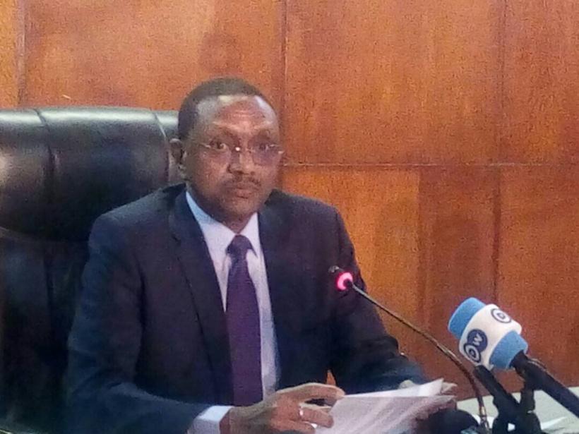 Le chef de la diplomatie tchadienne, Chérif Mahamat Zene.