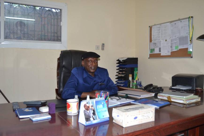 Le président du Conseil National des Pétroliers (CNP), Mahamat Saleh Issa. Alwihda