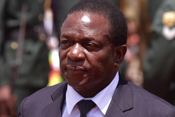 Le nouveau président du Zimbabwe Emmerson Mnangagwa. Crédits photo : sources
