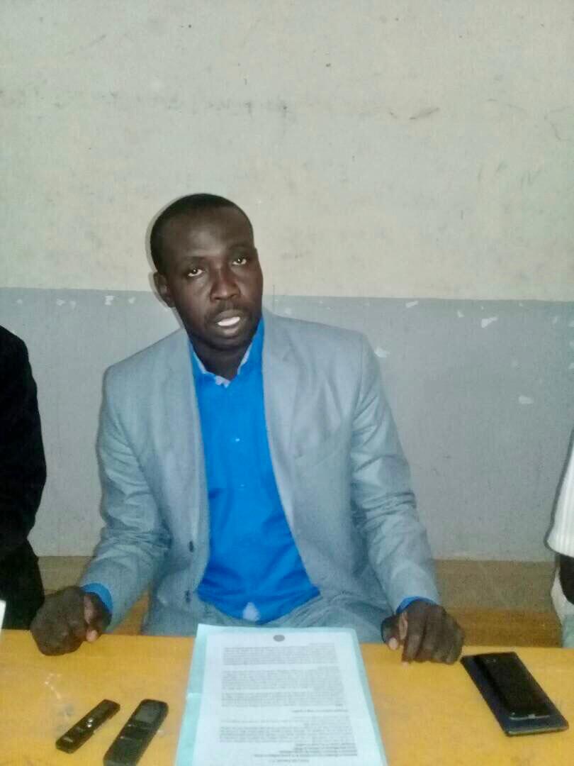 Le président du Parti du Peuple pour la Reconstruction et la Démocratie au Tchad (PPRDT), Bergue Tieguy Fidèle. Alwihda Info
